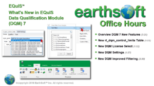 What's New in EQuIS Data Qualification Module (DQM) 7
