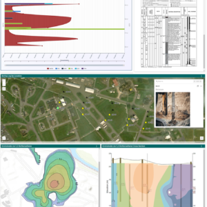 EnviroInsite Diagrams and Geotechnical Data